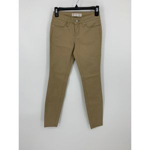 No boundaries 1 tan skinny jeggings